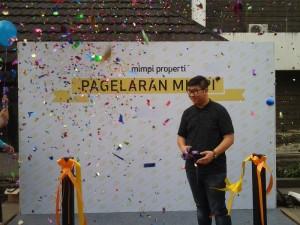 Prosesi Peluncuran Pagelaran Mimpi di TIM Jakarta