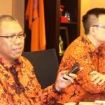 Ki-ka : Amran Nukman (Ketua REI DKI) dan Arvin. F. Iskandar (Sekretaris REI DKI)