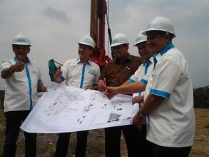 Direksi Gapuraprima Group Saat Prosesi Groundbreaking di Bhuvana Hotel & Residence, Bogor