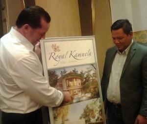 Direktur Utama Majestic Land, Wisnu Tri Anggoro (kanan).