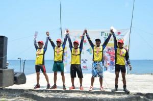 Pemenang Lomba Tanjung Lesung Fun Triathlon 2014