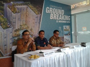 Press Conference Ground Breaking Bailey's Lagoon, Ciputat