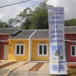 Rumah sederhana di kawasan Karawang