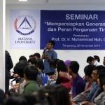 Suasana kuliah di Universitas Matana, Gading Serpong