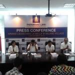 pers conference peluncuran Presiden La Bella @Milano
