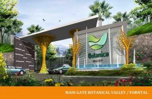 Main Gate Botanica Valley, Serpong