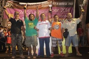 para pemenang lomba pameran otomotif Makassar 2014