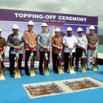 Prosesi Topping Off Sentul Tower Apartment, Sentul City