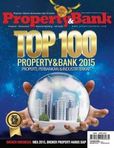 Cover Depan Property&Bank Edisi 110, Januari 2015