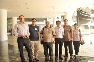Manajemen JUNG dari Asia Pasifik saat Kunjungan ke Sejumlah Hotel Di Bali