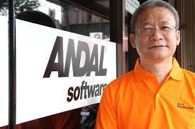 Indra Sosrodjojo sebagai Director Andal Software