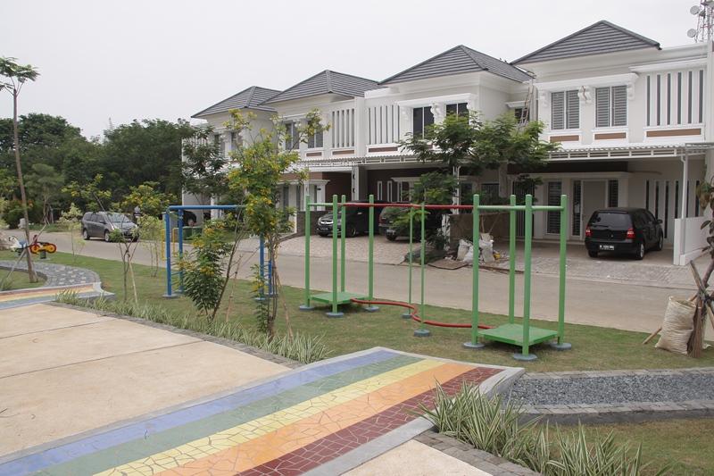 Casa jardin tawarkan cluster nicolaia property bank for Casa jardin daan mogot