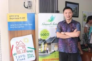 Direktur Utama MAS Group Suwandi Tio saat Peluncuran Grand Sutra, Rajeg