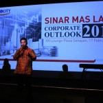 Managing Director Corporate Strategy & Services Sinar Mas Land Ishak Chandra