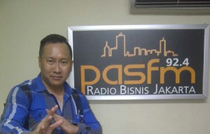 Ferry Hendarto, ST GM Sales Marketing Soedirman Condominium & GTE Bandara Soetta