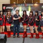 Peluncuran notebook gaming terbaru, di Hotel Novotel, Mangga Dua Square