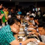 Suasana Antusias Pembeli klaster La Seine, Jakarta Garden City