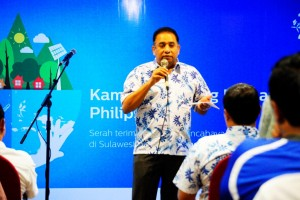 Chandra Vaidyanathan, Senior Vice President & Country Manager Philips Lighting Indonesia.
