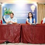"konferensi pers ""Kampung Terang Hemat Energi"" yang  diadakan di Makassar"