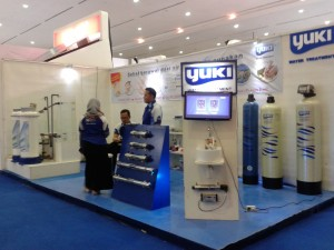 Yuki Water Treatment Pameran Keramika 2015