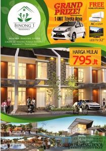 Beberapa Promo yang Ditawarkan untuk Setiap Pembelian Unit Binong 1 Residence