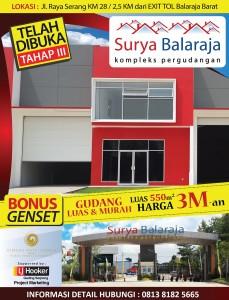 Promo untuk Pergudangan Surya Balaraja