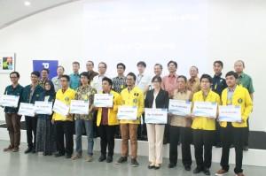 Para pemenang Scholarship Panasonic 2014/2015