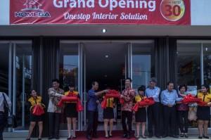 Prosesi Peresmian Gerai Pertama Homega Store di Pluit