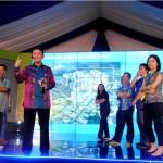 Andy K. Natanael, Direktur PT Modernland Realty Tbk pada pengenalan produk Klaster Yarra