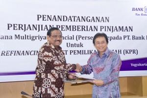 Prosesi Perjanjian Kerjasama SMF dan BPD DIY