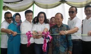 Peresmian Kantor Pemasaran Kirana Garden, Medan, Sabtu 3 Mei 2015.