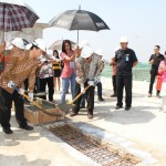 Prosesi Topping Off Tower Gardenia Apartemen Green Park View, 23 Mei 2015