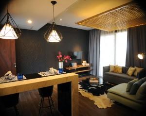 Show Unit Bhuvana Hotel & Residence di Marketing Gallery