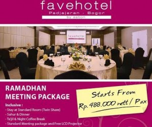 E-Blast Ramadhan Meeting Package 2015