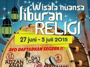 Wisata Nuansa Liburan Reliji 2015