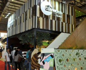 Booth Conwood di Indo Build Tech 2015