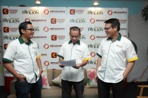 Direksi dan manajeman Megakarya Saat Press Conference Bintaro Pavilion