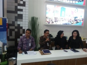 Press Conference Proyek Galuh Mas di BTN Property Expo 2015