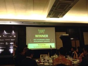 Bassura City menerima penghargaan dalam ajang Indonesia Property Award 2015