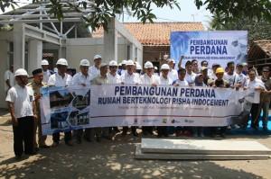 Indocement Luncurkan Rumah Instan Terjangkau