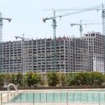 Pembangunan apartemen di kawasan Summarecon Bekasi
