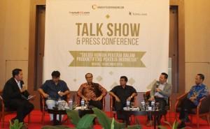 Talk Show Hunian Bagi Pekerja yang digelar Koppelland dan Rumah 123