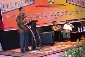 Direktur Jenderal Pembiayaan Perumahan, Kementerian Pekerjaan Umum dan Perumahan Rakyat (KemenPUPR), Maurin Sitorus