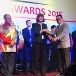 Ir,Ignesjz Kemalaarta MBA, Direktur Sinar Mas Land berhasil meraih penghargaan di kategori Tropical Building untuk The Breeze BSD City dalam ajang ASEAN Energy Award 2015 di Kuala Lumpur-Malaysia, (7/10/15).