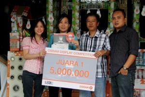 Salah satu pemenang Osram Display Competition dari wilayah Jakarta