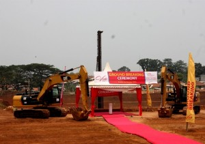 Ground Breaking Vivo Sentul, Kamis 29/10/2015