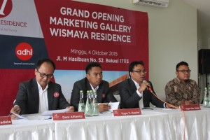 Press Conference Peluncuran Show Unit Wismaya Residence