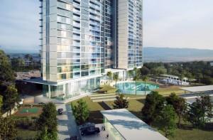 Apartemen Foresque Residence yang dikembangkan Binakarya Group