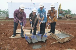 Ground Breaking Southscape Paradise Serpong City