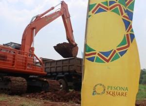 Pembangunan Pesona Square mulai dikerjakan.
